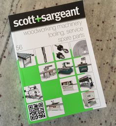 New Scott+Sargeant woodworking machinery catalogue 56... 1st copy special delivery from the printers. Would you like one ? Register on our website http://scosarg.com/request-catalogue #woodworking #machinery #woodwork #saws #cnc #w16 #furniture