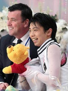 Yuzuru, Pooh & Brian Orser