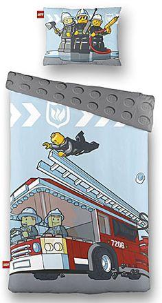 LEGO Dekbedovertrek City Brandweerwagen IMPORT