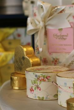 Charbonnel Et Walker Jewellery Box Inspiration Wedding Favoursvintage