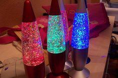 Glitter Lava Lamps =)