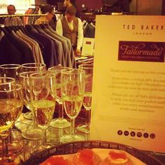 Ted's Tailormade Evening - @ted_baker- #webstagram