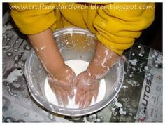 Crafts~N~Things for Children: Homemade Oobleck Recipe ~ A Fun Dr Seuss-Inspired Activity
