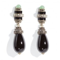 """""""Eclectic Combo"""" Green Aventurine and Crystal Drop Earrings - Earrings – Shop Jewelry 