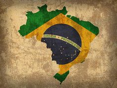 Map of Brazil With Flag Art on Distressed Worn Canvas Greeting Card for Sale by Design Turnpike Brazil Art, Brazil Flag, Brazil Wallpaper, Map Tattoos, Tatoos, Tattoo Brasil, Flag Art, Football Wallpaper, Canvas Designs