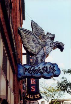 Pegasus Greek Restaurant. Greek town, Detroit. 2000. photo by Steve Golse.