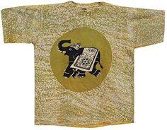 Odishabazaar Unisex Cotton Elephant Batik T-shirt Tees XL Green Odishabazaar http://www.amazon.com/dp/B01AO6HKCU/ref=cm_sw_r_pi_dp_FPCUwb0EFDZCQ