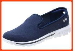Skechers Go Walk Storm Women's Slip On Shoes, Navy, 7.5 US (*Partner Link)