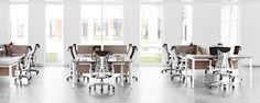 Layout Studio - Sistema de mobiliário para escritório - Herman Miller