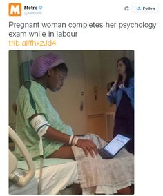 She must have had an epidural, but still . . . - Imgur