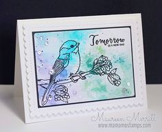 Maureen Merritt for WPlus9 featuring A New Day stamp set