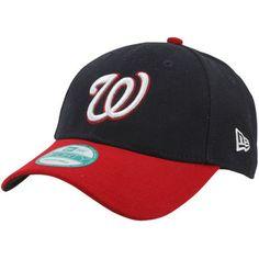 new style 870b8 f2e1c Washington Nationals New Era Men s League 9Forty Adjustable Hat - Navy