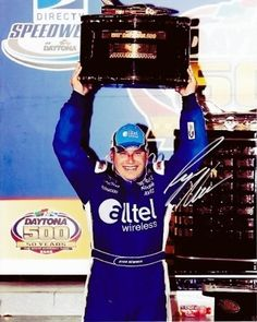 AUTOGRAPHED Ryan Newman 2008 DAYTONA 500 WINNER (Trophy) NASCAR 8X10 Photo by Trackside Autographs. $49.95. For your viewing pleasure: *AUTOGRAPHED* Ryan Newman 2008 DAYTONA 500 WINNER (Trophy) 8X10 Photo. This beautiful, glossy NASCAR picture has been Hand-Signed by Ryan through a well-respected member of Global Authentication. You will receive a Certificate of Authenticity (COA) with your purchase, and we also offer a 100% life-time guarantee regarding authenticity! Thi...