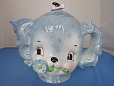 Vintage Lefton Puppy Dog Teapot