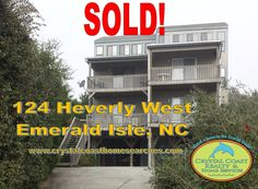 SOLD!   Emerald Isle Real Estate   The Crystal Coast Home Team has helped another buyer realize their dream of owning a home in Emerald Isle, NC. Looking for that beach home of your own? Start your online real estate search for properties in Emerald Isle by visiting www.crystalcoasthomesearches.com.