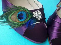 Etsy peacock shoes
