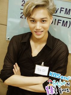 Kai looks so cute in this picture!!!