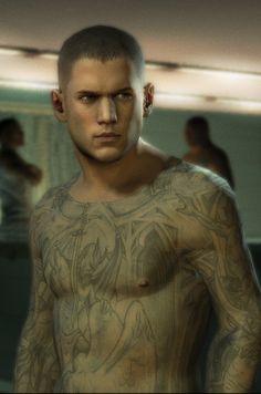 Michael scofield of Prison Break