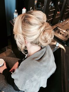 Beautiful updo for this beautiful client!