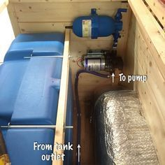 How to install a water system in a van conversion.