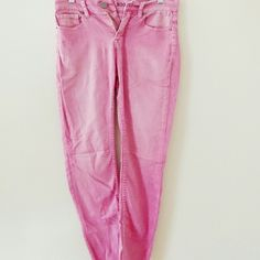 BDG pink faded high rise ankle price firm Excellent condition, no signs of wear, stretchy fit, high rise, 28w 30l BDG Pants Ankle & Cropped
