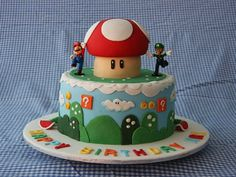 50 ideas de tortas de Mario Bros