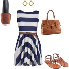 Simple Summer Style, created by careyhope1 on Polyvore