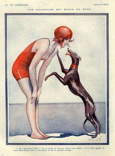 1920s France La Vie Parisienne Magazine