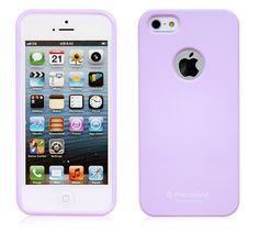 ALICE PASTEL SLIM-FIT CANDY PEARL LOGO CASE FOR IPHONE 5 / 5S - PURPLE $7.99
