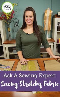 Hi – many thanks for your regular updates! I have been having problems sewing Lycra or any fabric that stretches. Do you have any advice on how to sew stretchy fabrics?