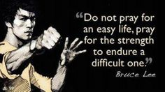 Quote by Bruce Lee, famous actor