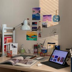 65 Ideas Bedroom Desk Ideas Organizations Home Office Study Room Decor, Room Ideas Bedroom, Bedroom Decor, Wall Decor, Wall Art, Room Interior, Interior Design, Aesthetic Room Decor, Dream Rooms