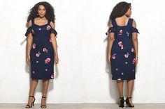 #PlusModelMag Plus Fashion Find: Beyond by Ashley Graham Floral Cold Shoulder Dress at Dressbarn http://dlvr.it/NWZvFZ #Shop #BeyondbyAshleyGrahamcollec... - PLUS Model Magazine - Google+