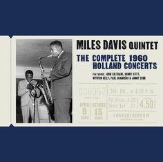 Miles Davis Quintet - The Complete 1960 Holland Concert - Concept & design by comunicom.es