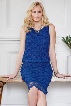 LTS - 50 Lace Double Layer Dress