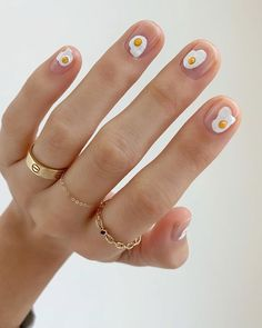 the stunning summer nail art designs for short nails 74 ~ thereds.me - - the stunning summer nail art designs for short nails 74 ~ thereds. Spring Nail Art, Spring Nails, Summer Nails, Fall Nails, Winter Nails, Nail Art Designs, Short Nail Designs, Fruit Nail Designs, Easy Designs