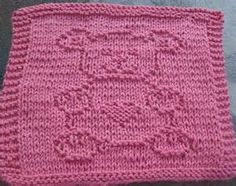 Free knitting patterns for dishcloths wash cloths hot pads and
