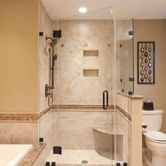 Bathroom in finished basement