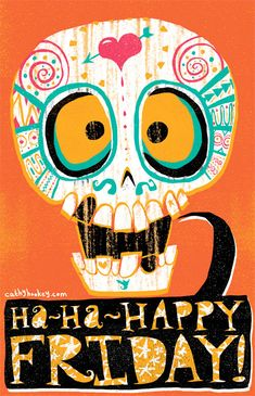 monster happy halloween images | Happy Friday with Cathy Hookey | Creaturemag Online Art Magazine