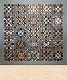 Crossroads quilt by Geoff's Mom Pattern Co.
