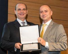 Edson Franco, presidente da FenaPrevi e Dilmo B. Moreira, presidente do CVG-SP