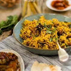 Mushroom Biryani | Hari Ghotra