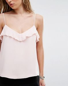 "Képtalálat a következőre: ""Pimkie Frill Detail Cami Top"" Mode Rococo, Rococo Fashion, Cami Tops, Blouse Styles, Everyday Outfits, Summer Looks, Fashion Outfits, Womens Fashion, Fashion Online"
