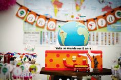 Around the world party / Volta ao mundo!