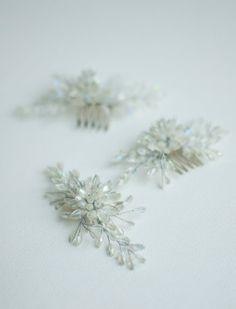 Crystalic clips Bridal Hair Accessories, Stud Earrings, Bride, Jewelry, Wedding Bride, Jewlery, Bridal, Jewerly, Bridal Hair Jewellery