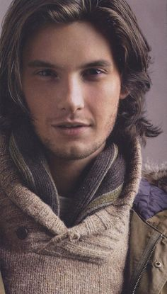 Ben Barnes. I'm not sure which I like more - maned Ben or tamed Ben? Either way he gets brownie points for being in Stardust ;)