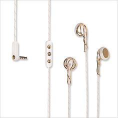 7 Stylish Headphones - Frends Gold Ella Headphones from #InStyle