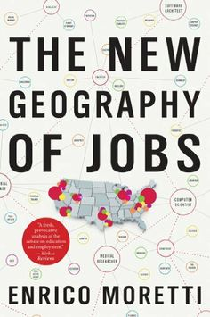 The New Geography of Jobs by Enrico Moretti, http://www.amazon.com/dp/B008035HQQ/ref=cm_sw_r_pi_dp_SHu4sb1ES78GD