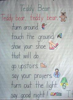 Teddy Bear Poems, My Teddy Bear Poem by Jeffrey S. Foreman on ...