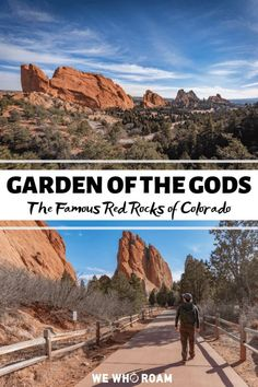 See the popular red rocks of Colorado at Garden of the Gods in Colorado Springs…. See the popular red rocks Estes Park Colorado, Boulder Colorado, Red Rocks Colorado, Road Trip To Colorado, Colorado Hiking, Colorado Mountains, Colorado Springs Things To Do, Colorado Springs Hikes, Colorado Tourism